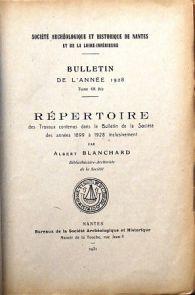 Répertoire du bulletin (1859-2009)